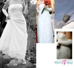 koronkowa suknia ślubna Juliette