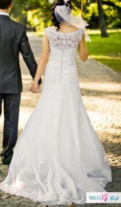 Koronkowa suknia ślubna - ŁÓDŹ