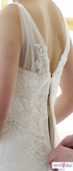 Koronkowa suknia ślubna Madonna Pronovias - do sprzedania!