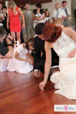 koronkowa suknia ślubna madonna White One 207, rozmiar 36