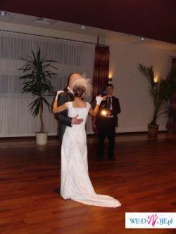 Koronkowa suknia ślubna; maleńki rozmiar; okolice Częstochowy
