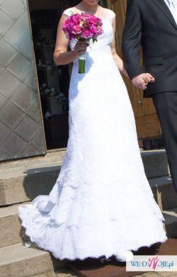 Koronkowa suknia ślubna Nabla Fanny 36 38