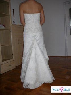 Koronkowa Suknia Ślubna-RONDALLA-sprzedam 1800