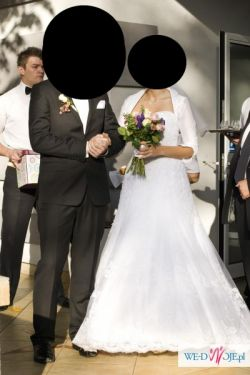 koronkowa suknia ślubna - sprzedam