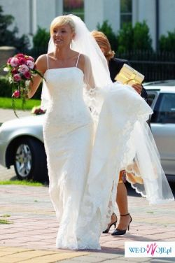 Koronkowa suknia ślubna St Patrick Rondalla Poznań