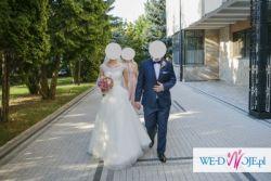 Koronkowa suknia ślubna w kształcie litery A Nabla Aliana