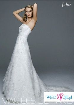 Koronkowa Suknia z Maries de Paris - model Fabie