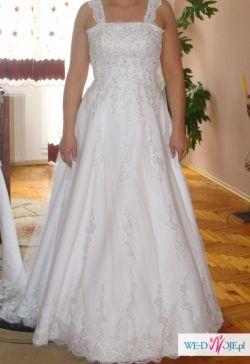 Koronkową suknie ślubną-tanio!!!