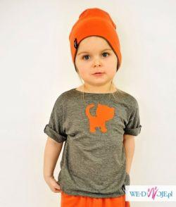 Koszulka Dziecięca Kotek Lajn Kids