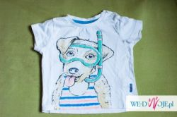 koszulka Reserved  74 biała