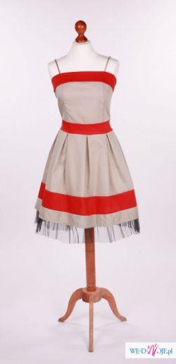 1e1575a52d Krótka sukienka Klasyka lat 50. - Odzież damska - Ogłoszenie - Komis ...
