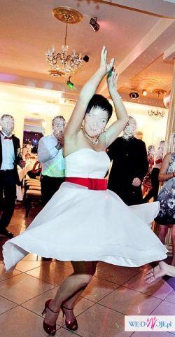 Krótka sukienka ślubna Brigitt