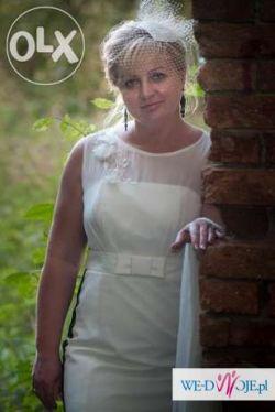 Krótka Suknia ślubna Suknie ślubne Ogłoszenie Komis Baza