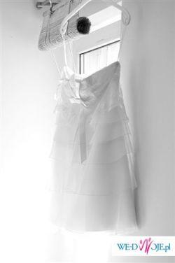 krótka suknia ślubna CYMBELINE model BOP