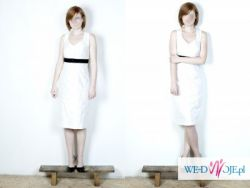 krótka suknia ślubna / ślub cywilny