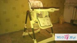 Krzesełko do karmienia Voyager Apollo Sun nowe