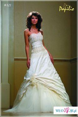 """KUPIĘ suknię Palilio model 821 lub inną która ma dekolt w szpic a nie """"na prosto"""