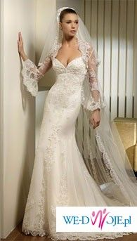 Kupię suknie ślubną San Patrick Prado 2009