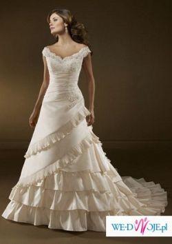 kupię suknię ślubną w stylu hiszpańskim jak na zdjęciu