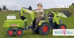Kupię używany traktorek Falk Claas 1010W komplet