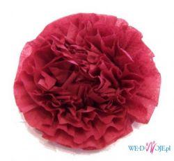 KWIAT róża, ozdoba do sukienki, na stół lub choinkę !