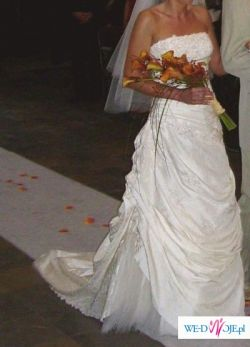 La Sposa Micenas-przepiękna suknia ślubna