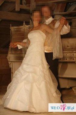 Ładna suknia ślubna. Tanio!!