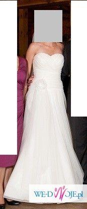 Lekka suknia ślubna - Julia Rosa 207 - ivory