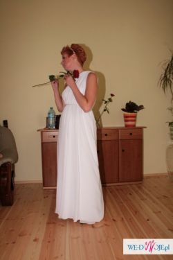 Lekka, zwiewna, oryginalna suknia Grecka