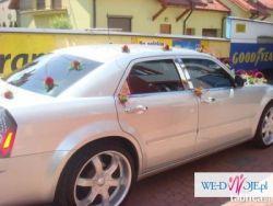 Limuzyna do ślubu Chrysler 300c Mława Ciechanów działdowo