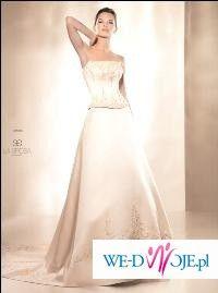 Luksusowa suknia ślubna