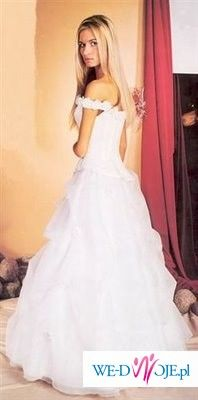 Madame Zaręba suknia ślubna ecry roz 38