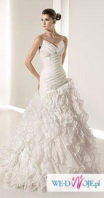 madonna White One 6210 sukienka ślubna jak nowa