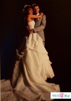 maggie sottero Monalisa - sprzedam śliczną sukienkę ślubną i bolerko