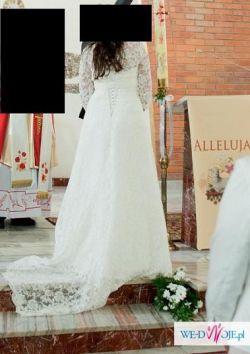 Mam do sprzedania prześliczną suknię ślubną z kolekcji MYSTIC 2013.  Suknia jest