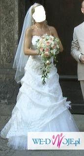 Mam do sprzedania suknie ślubną FIRMY MODA ŚLUBNA Urszuli Mateji