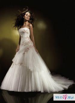 Mam na sprzedaż ORYGINALNĄ suknię ślubną Benjamin Roberts  911