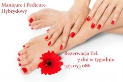 Manicure hybrydowy ,paznokcie pedicure Wawer (codziennie)