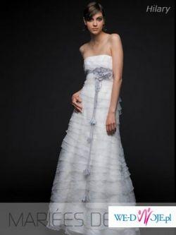 MARIEES DE PARIS HILARY  suknia ślubna rozm. 38 !!!