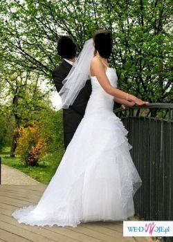 Markowa suknia ślubna Mariees de Paris model Feline