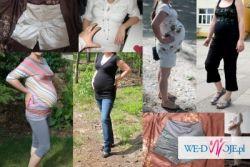 Mega zestaw ubrań ciążowych