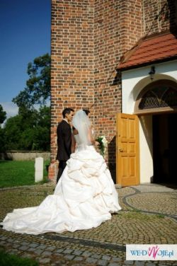 Meggi Sottero bajkowa suknia ślubna
