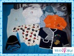 Mnustwo ciuszków dla maluszka, niemowlęce, różności rozm 50-80 !!! Polecam :))