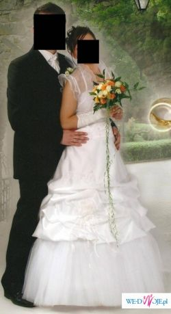 modna i elegancka suknia ślubna