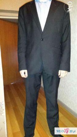 Modny garnitur slim rozm 182/56 GWARANCJA