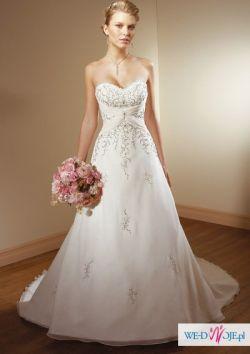 Mori Lee 2105 Suknia Ślubna model 2010+welon,szal