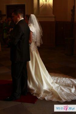 MORI LEE 2108- Zjawiskowa Suknia Ślubna!!!!!