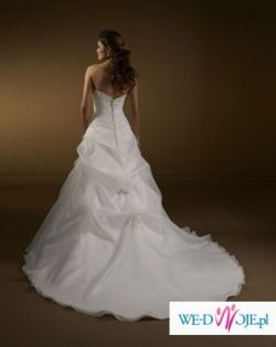 Mori Lee Wedding Dress 2163 Satin Organza