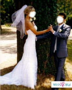 Multielegancka,ponadczasowa sukienka ślubna