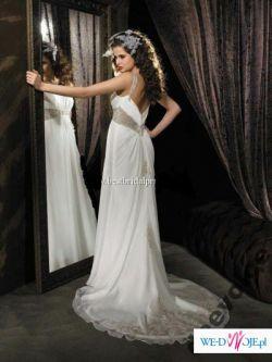 Muślinowa suknia ślubna ALLURE 860